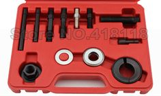 12PCS PROFESSIONAL STEERING PULLEY REMOVAL SET KIT TOOLS FOR GM/FORD/Buick