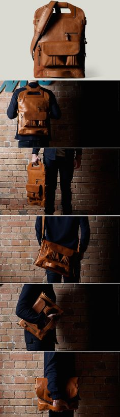 #hardgraft 2Unfold Laptop Bag