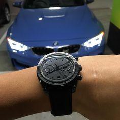 Rolex- #darksideofthemoon #omega #rolex#bmw#bmwm3 #bmwm4 #speeder - via http://ift.tt/1nDrqv2