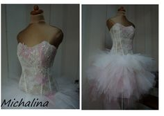 Lace and Tulle Wedding Dress Wedding  #tulle #lace #eveningdress #weddingdress #chic #promdress