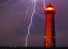 North Pierhead lighthouse, Wisconsin