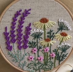 Embroidery Hoop Art Crewel Embroidery Hand Embroidery Patterns Silk Ribbon Embroidery Cross Stitch Patterns Embroidery Designs Sewing Stitches Needle And Thread Needlepoint Crewel Embroidery Kits, Embroidery Flowers Pattern, Embroidery Supplies, Silk Ribbon Embroidery, Hand Embroidery Designs, Cross Stitch Embroidery, Embroidery Thread, Embroidery Ideas, Indian Embroidery