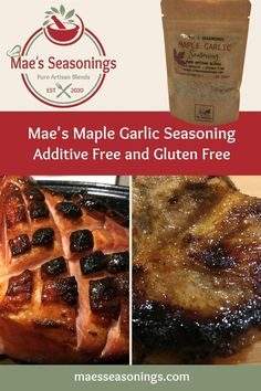 Maple Garlic Seasoning is a unique seasoning that is excellent on pork and sweet potatoes. our Maple Garlic Seasoning is a blend of spices including maple sugar, brown sugar and garlic to name a few. Plus it has a hint of cinnamon, salt and pepper. Our Maple Garlic Seasoning is jam packed with tons of flavour that will lift elevate your tastebuds. Eliminate the guesswork and choose Mae's Maple Garlic spice combinations that are made with no artificial preservatives. Pork Ribs, Pulled Pork, Vegetarian Stir Fry, Spice Combinations, Natural Spice, Maple Sugar, Brown Sugar, Roasted Sweet Potatoes, Natural Flavors