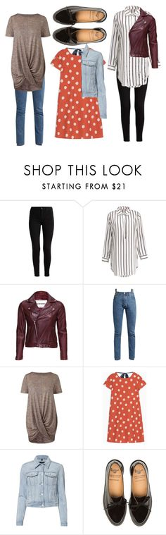 """""""Untitled #43"""" by bettina-agoston on Polyvore featuring VIPARO, Vetements, Max&Co. and J Brand"""