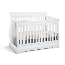 Graco Maple Ridge 4-in-1 Convertible Crib - White (350) converts to all sizes; comes in gray, dove brown and expresso