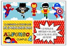 Resultado de imagen para ideas para fiestas de superheroes