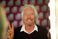 Sir Richard Branson attends an Virgin StartUp and TEDCO Business Support event