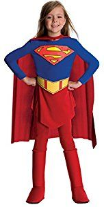 Rubie's Official Supergirl Costume - Large: Amazon.co.uk: Toys & Games