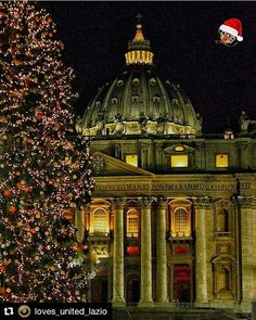 """""""San Pietro Vestita di Natale"""" - Roma  #photobydperry  #Repost @loves_united_lazio with @repostapp  Presents PHOTOGRAPHER   @david_r_perry  L O V E S O F T H E D A Y December 25 2016 LOCATION   #roma PROFILE ADMIN   @wolmersala  OUR TAG   #LOVES_UNITED_LAZIO  THANK FOR FOLLOWS US   @LOVES_UNITED_LAZIO @LOVES_UNITED_LIFE  PARTNER GROUP   @Loves_United_Family @Loves_United_Basilicata @Loves_United_Roma @Loves_United_Italia_ #l_u_t_c_i_2016_December 25 OUR MAIL  loves.members@gmail.com…"""