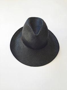 Reinhard Plank Dennis Straw Hat - Black c12e80f6c95