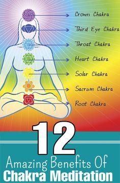 12 Amazing Benefits Of Chakra Meditation