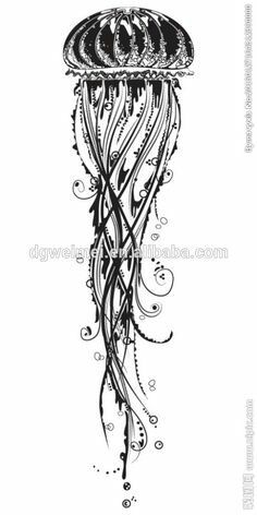 7e6df741e 27 Best Jellyfish tattoos images | Living water, Jellyfish tattoo ...