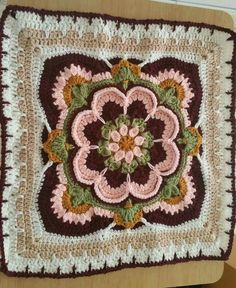 Rose if Avalon Square (Go To Ravelry)