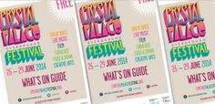 Starting today is The Crystal Palace Overground Festival. It is a free event, so get down early to get a good spot!