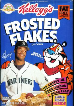 90s cereal - frosted flakes