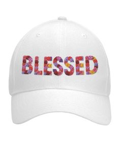 Blessed Curved Velcro Hat
