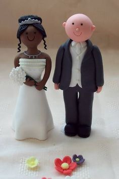 Custom Wedding Cake Topper By Lynnslittlecreations On Etsy 3000