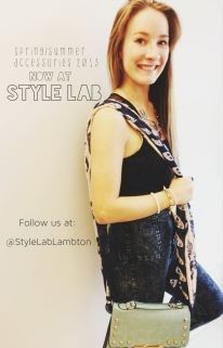Our style lab model! We love her!