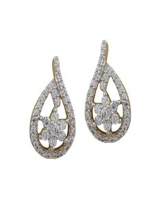 Dazzling Diamond Studs with 70 pieces Gift yourself this spectacular piece of jewellery, pair of earrings encrusted with diamonds in 18 kt pure gold....! - See more at: http://www.diamonds4you.com/item/21301010.aspx#sthash.ESe5WSfD.dpuf #gift #diamond #diamondjewelelry #diamondearrings