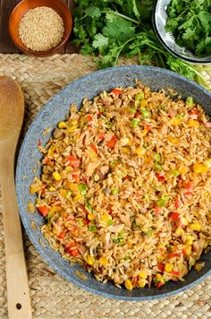 Slimming Eats Syn Free Savoury Rice - gluten free, dairy free, Slimming World and Weight Watchers friendly Slimming World Treats, Slimming World Dinners, Slimming World Recipes Syn Free, Slimming Eats, Slimming Word, Dairy Free Recipes, Diet Recipes, Vegetarian Recipes, Cooking Recipes