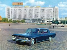 ZIL-117 10 Weird & Wonderful Cars Of The Soviet Union
