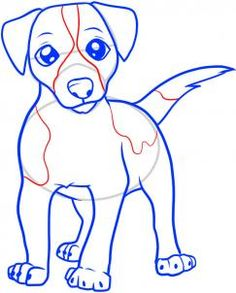 how to draw a jack russell terrier step 6 Jack Russell Terriers, Jack Russell Dogs, Creature Drawings, Animal Drawings, Art Drawings, Drawing Lessons, Art Lessons, Dog Steps, Online Drawing