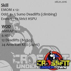 #wod #cftundertown #crossfit #workout #conditioning #strength #power #skill #barbells #gymnastics #xeniosusa #roguefitness #supportyourlocalbox