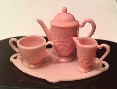 Dollhouse Miniature Tea Set