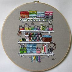 love this embroidery