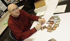 Pete Venters. Ilustrador de fantasía, ha dibujado para juegos como Magic the Gathering, Vampire T.M, Dungeons and Dragons, Warhammer; trabajando para compañías como Walt Disney, Blizzard o Wizard of the Coast.