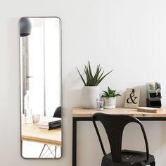 Miroir en métal 39x130   Maisons du Monde