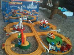 Disneyland Vintage toy train from the 1980's.  Still works!!
