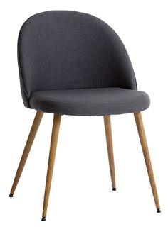 Ruokapöydän tuoli LADELUND harmaa | JYSK