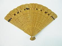 Collection of Antique Hand Held Fans WWW.JJAMESAUCTIONS.COM