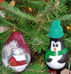 Christmas Tree ornaments made of light bulbs | Christmas Shop | Bullock Farms - Cream Ridge, NJ