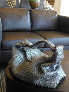 e467624d2d Gray (on gray) Bottega Veneta Sloane bag