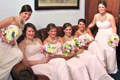 Beautiful ladies in waiting...  Monique L'Huillier