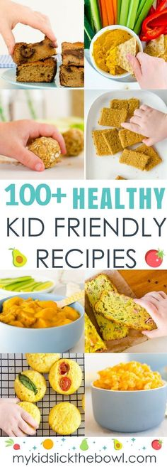 Best kid friendly recipes, 100 plus healthy kid food ideas. Easy to make recipes for busy families and mums that have been kid approved.