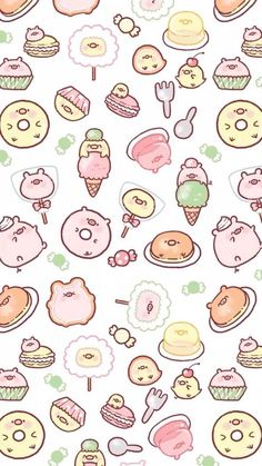 New Wallpaper Ipad Cute Beautiful 38 Ideas Pig Wallpaper, Iphone Background Wallpaper, Kawaii Wallpaper, Aesthetic Iphone Wallpaper, Pattern Wallpaper, Trendy Wallpaper, Wallpaper Ideas, Photo Wallpaper, Cute Kawaii Drawings