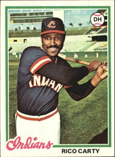 1978 (INDIANS) Topps #305 Rico Carty - NM #Topps