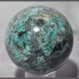 Emerald in Matrix 3.2 inch 1.7 lb Natural Crystal Sphere - Brazil