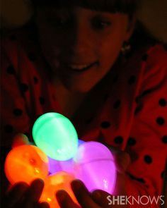 Glow-in-the-Dark Easter Egg Hunt