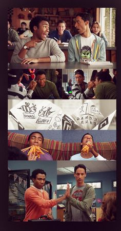 Troy and Abed :'(