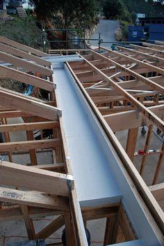 Elegant Shed Roof Structure Ideas Shed Roof Structure - This Elegant Shed Roof Structure Ideas ideas was upload on November, 1 2019 by Cleveland Koch. Here latest Shed Roof Structure i. Roof Architecture, Architecture Details, Box Gutter, Roof Drain, Butterfly Roof, Rustic Pergola, Pergola Roof, Roof Deck, Pergola Kits