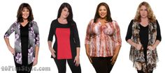 best tops for apple body shape | 40plusstyle.com