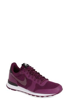 Free shipping and returns on Nike 'International' Sneaker (Women) at Nordstrom.com. A lightweight EVA midsole adds cushioning without bulk in a retro-inspired sneaker styled with a low-cut collar for a natural fit around the ankle and grounded by a waffle-tread sole for excellent traction.
