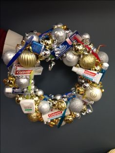 Dental Theme Christmas Wreath