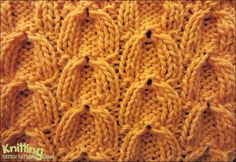 cable-knitting-stitches   Knitting Stitch Patterns #knitSwatch (instructions for the pattern on the site)