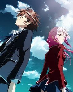 Shu Ouma and Inori Yuzuriha Guilty Crown
