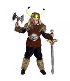 Βίκινγκ στολή για αγόρια ο άφοβος μαχητής του Βορρά